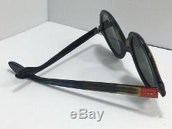 1960s VINTAGE IRIDESCENT RAY BAN SUNGLASSES HIPPIE JOHN LENNON BEATLES WOODSTOCK