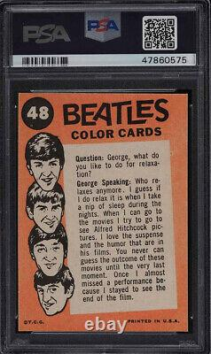 1964 Beatles Color PSA 9 Mint #48 Topps Paul McCartney John Lennon Band Card