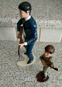 1964 Beatles John Lennon Revell 8 & Revell Like 6 Model Doll Beatle Figures