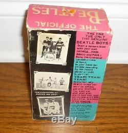 1964 Remco John Lennon doll in the original box! The Beatles, Soft Body