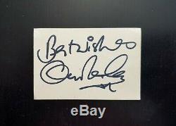 1964 THE BEATLES full set autographs + Cliff Richard signed JOHN LENNON HARRISON