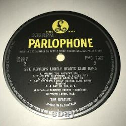 1967 UK The Beatles Sgt Pepper's Lonely Hearts MONO George Harrison John Lennon