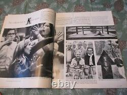 1968 Look Magazine Psychedelic John Lennon Avedon Newstand Issue Beatles Poster