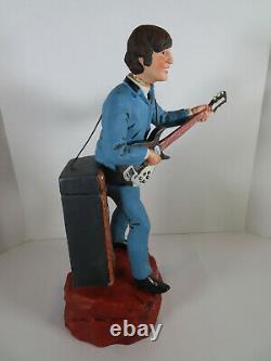 1970s John Lennon Music Box Decanter Repaired Guitar Handle Beatles