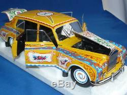 1/18 Cmf Rolls-Royce Phantom V John Lennon 1965 Out Of Print Hippie Rolls Japan