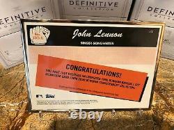 2020 Bowman Transcendent 1/1 Cut Autograph John Lennon Auto Beatles Signature