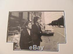 2 John Lennon Bag One roman numeral number Signed autograph art lithograph 1970