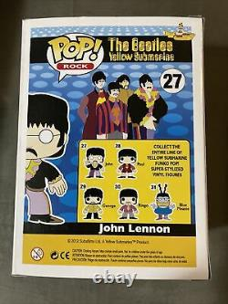AUTHENTIC- The Beatles John Lennon #27 Vaulted Rare Funko Pop