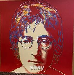 Andy Warhol, JOHN LENNON- Silkscreen Proof -Prov. Doc. BEST PRICE TOP PIECE