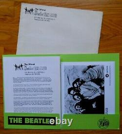 BEATLES 1970 PROMO Fan Club PRESS KIT APPLE photos WAR IS OVER John Yoko Lennon