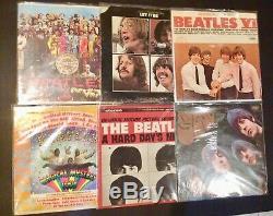 BEATLES John Lennon Paul McCartney MASSIVE Album Record 33RPM LP Promo LOT of 32