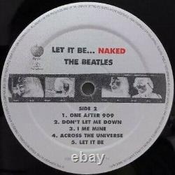 BEATLES LP & 7 Bonus Disc. LET IT BE. NAKED. 2003 UK APPLE. 11 Songs Sealed