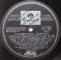BEATLES Number Ones OZ Only LP EP 45 PROMO AUSTRALIA Press OZ JOHN LENNON Vinyl