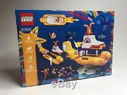 BRAND NEW LEGO 21306 Ideas Yellow Submarine Beatles New Factory Sealed