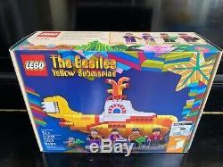 BRAND NEW LEGO BEATLES Yellow Submarine Lego Toy (21306) Mint Sealed box MISB
