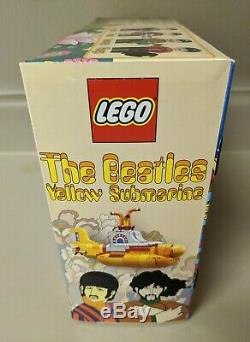 BRAND NEW LEGO The Beatles Yellow Submarine Set (21306)! SEALED! EXCELLENT