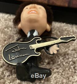 Beatles 1964 JOHN LENNON Hard Body REMCO SELTAEB DOLL w Instrument Gorgeous