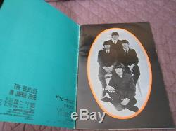 Beatles 1966 Japan Tour Book Concert Program with Photo John Lennon McCartney