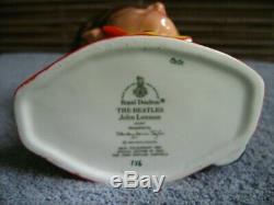 Beatles 1984 Royal Doulton Red Jacket John Lennon Toby Mug England UK MINT $650