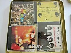 Beatles 8 Christmas Fan Club CD's -Tin Box Set-Limited Edition + brochure