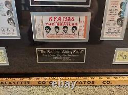 Beatles Authentic Signed Paul McCartney Ringo Starr John Lennon George Harrison