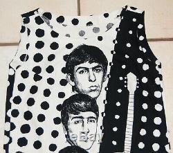 Beatles Dress, rare original vintage from Holland 1964 Beatles Dress John Lennon