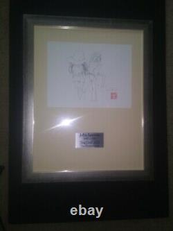 Beatles John Lennon BAG ONE Art Print Display -The Honeymoon