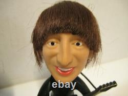 Beatles John Lennon & Paul McCartney Soft Body Remco Nems Doll with orig. Guitars