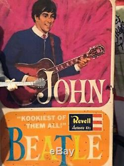 Beatles John Lennon Revell Model With Box
