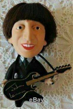 Beatles John Lennon Vintage Soft Body Remco Doll in a new Box with Insert