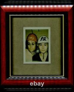 Beatles John Lennon Yoko Ono ONE-OF-A-KIND Polaroid Photo from Photographer