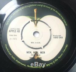 Beatles John Lennon Yoko Ono Run, Run, Run Demo Promo UK Apple 1973
