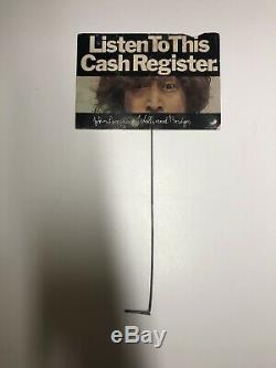 Beatles John Lennon listen to this cash register walls and Bridges store display