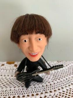 Beatles John Lennon withGuitar Instrument Doll Figurine Vintage 1964 Excellent