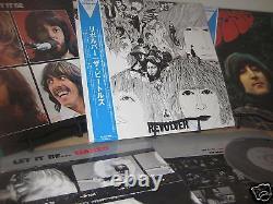 Beatles Revolver Rubber Soul Let It Be + Rare Naked Obi Japan 2003 Obi 4 Lp Set
