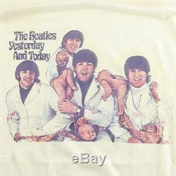 Beatles Shirt Vintage tshirt 1970s Yesterday and Today Ringo Starr John Lennon