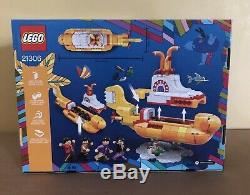 Beatles Yellow Submarine LEGO SET NEW Box Sealed 21306 Retired Ideas John Paul