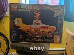 Beatles Yellow Submarine Lego Set (23106) New in box
