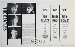 Beatles original vintage Concert Programme, Liverpool 1962, John Lennon, Tour