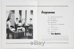 Beatles original vintage Concert Programme, Scotland 1964, John Lennon, Tour