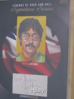 Bgs 9.5 2017 The Bar Cut John Lennon 1/1 Signed Auto The Beatles Autograph