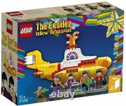 Brand New & Sealed LEGO The Beatles Yellow Submarine (21306) retired