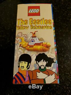 Brand new LEGO Ideas The Beatles Yellow Submarine 21306