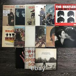 Classic Vinyl Lot (31 LPs, 3 Singles). Beatles, Dylan, Elvis, Bowie, And More