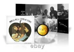 Clear Vinyl John Lennon & Yoko Ono Special Interview 1971 Beatles Japan Limited