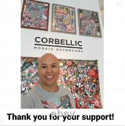 Corbellic Art, Original Painting, Beatles Band, John Lennon Art, Gallery Design
