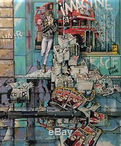 Daniel Authouart Imagine (Beatles, John Lennon) Lithograph