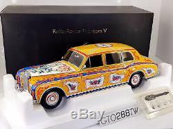 Dealer Edition 118 scale Rolls-Royce Phantom V 1967 Beatles John Lennon Edition