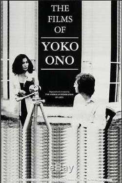 FILMS OF YOKO ONO one sheet movie poster 24x36 R1991 JOHN LENNON NM