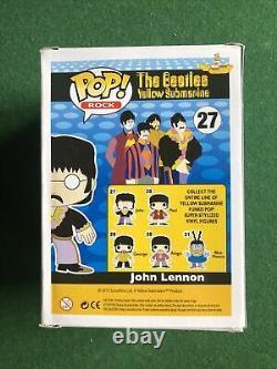 FUNKO POP! Rocks John Lennon #27 The Beatles VAULTED GRAIL